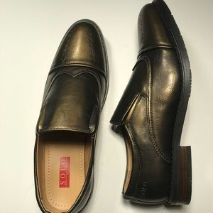 0706ed84452 2019 SALE Men s Solo Caesar Bronze Dress Shoe